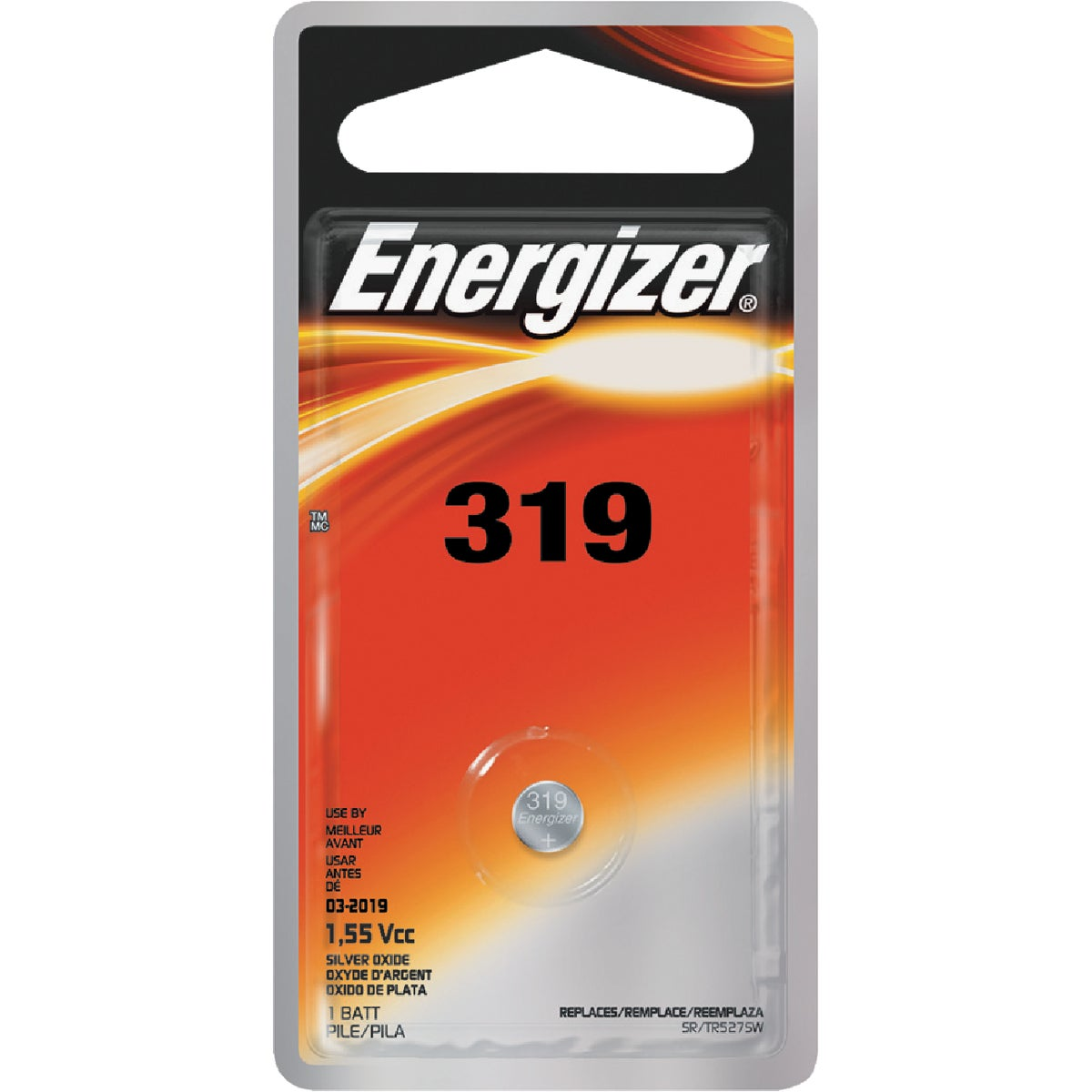 1.5V WATCH BATTERY - 319BPZ by Energizer
