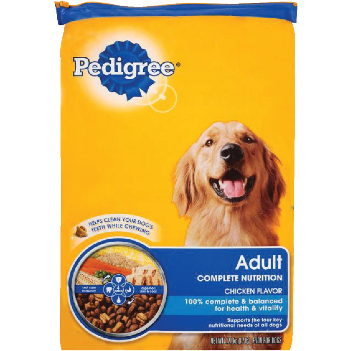 17LB ADLT CMPLT DOG FOOD - 10097565 by Mars Pedigree