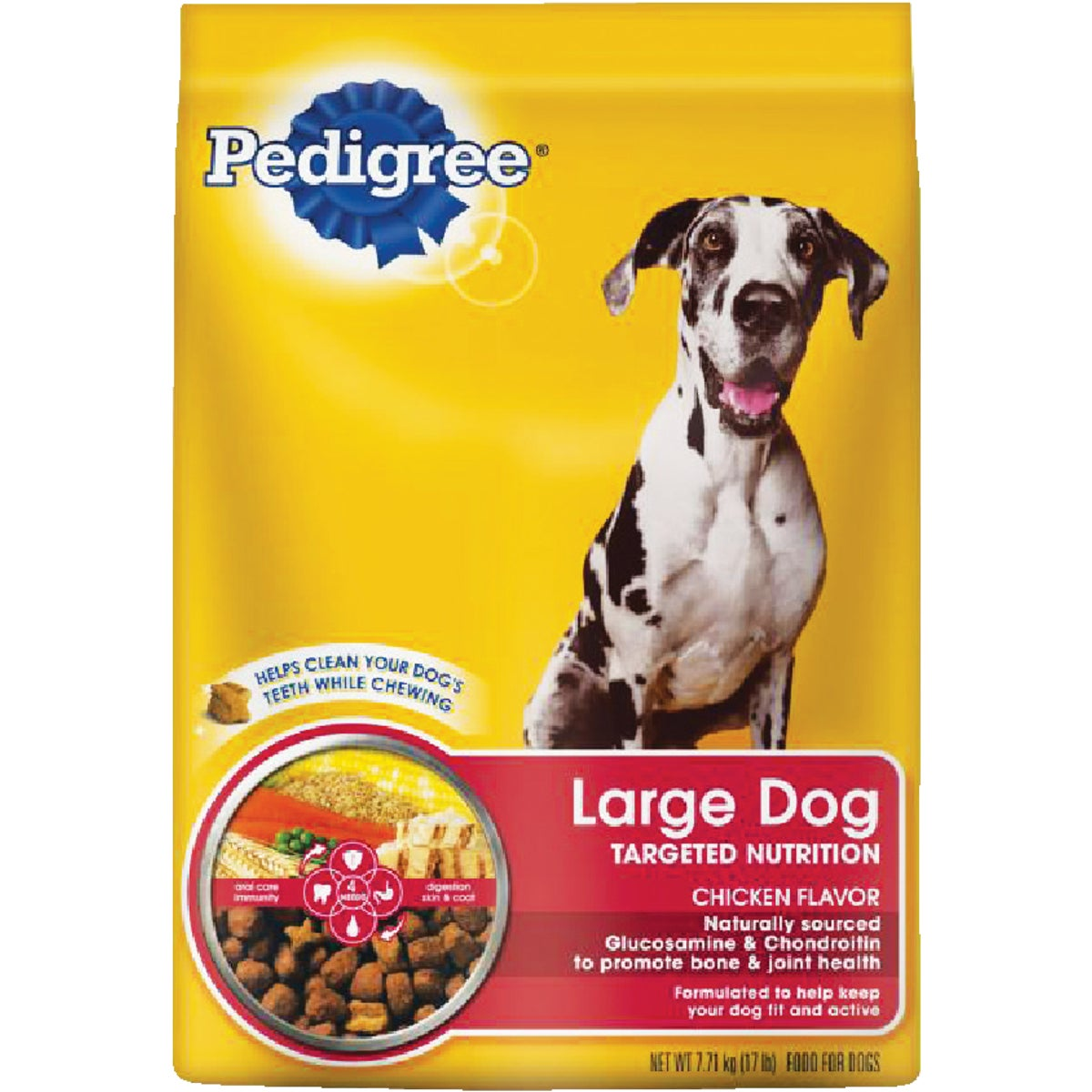 17LB LRG BREED DOG FOOD - 10097566 by Mars Pedigree
