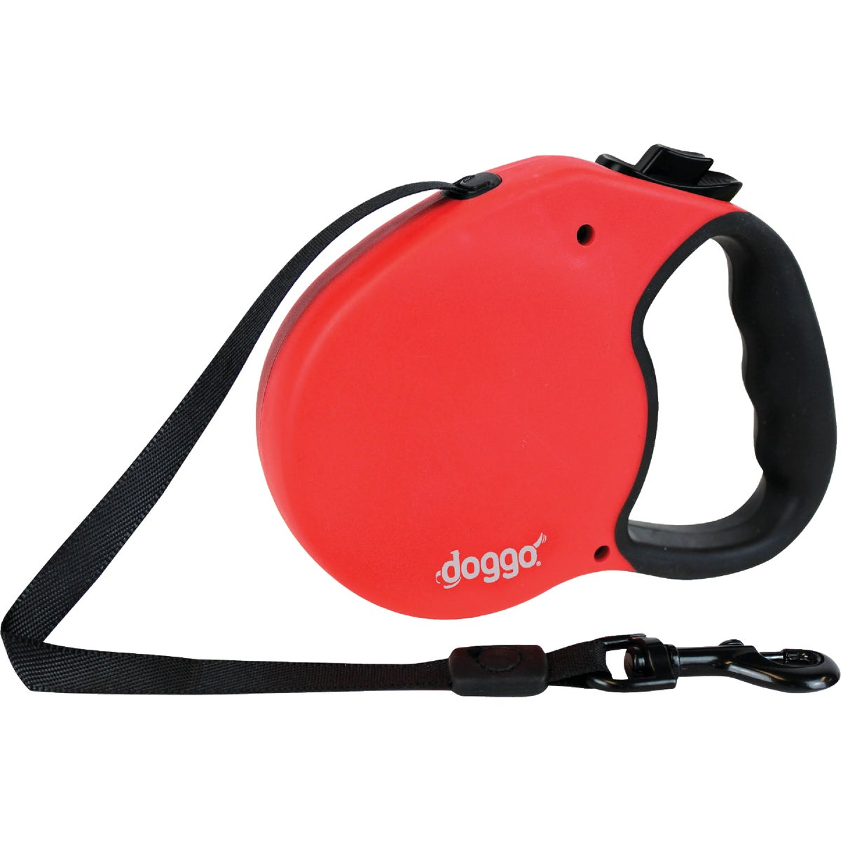 MD RED RETRACTABLE LEASH