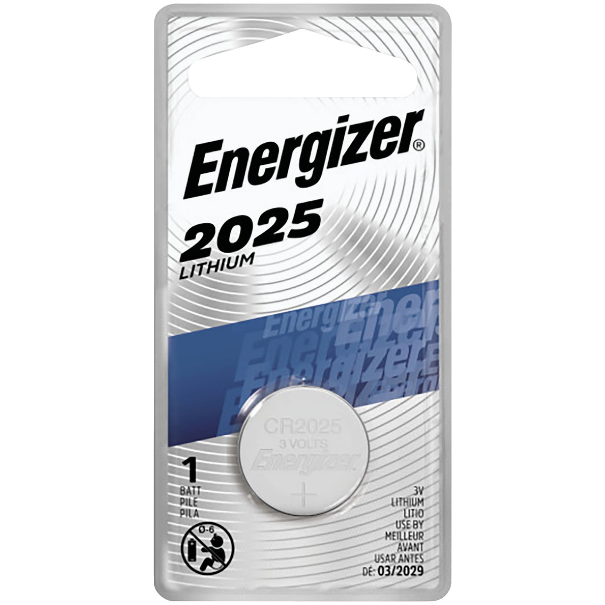 3V LITHIUM BATTERY - ECR2025BP by Energizer