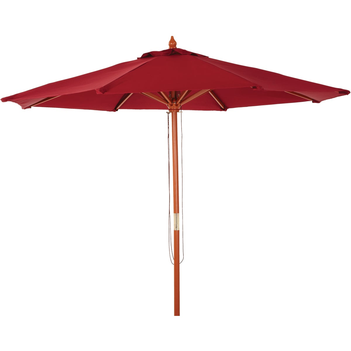 9' MKT BURGUNDY UMBRELLA - TJWU-003A-270-BRG by Do it Best