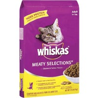 Mars Pedigree 15LB WHISKAS MEATYSELECT 31482
