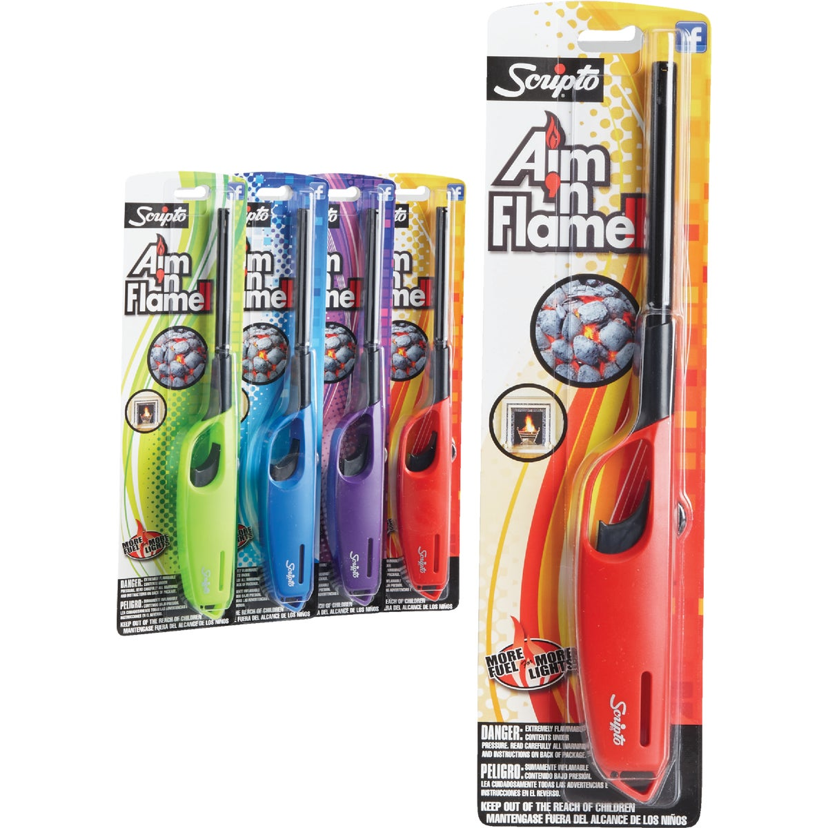 AIM-N-FLAME UTE LIGHTER - HC12CR by Calico Brands