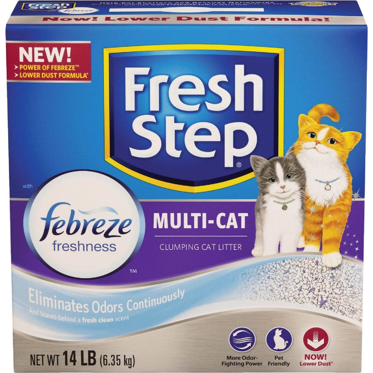 14LB FRSHSTP MLTI LITTER - 02049 by Clorox/home Cleaning