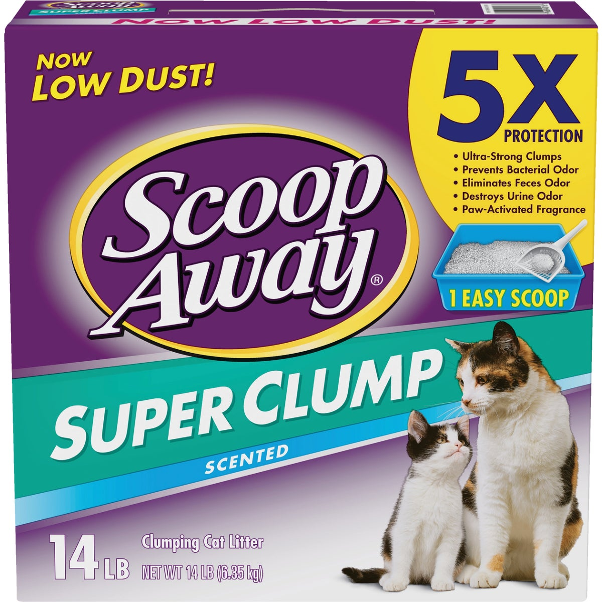 14LB SCOOP AWAY LITTER - 40016 by Clorox/home Cleaning
