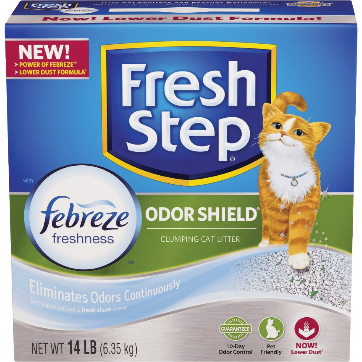 14LB BOX FRSHSTEP LITTER - 03039 by Clorox/home Cleaning