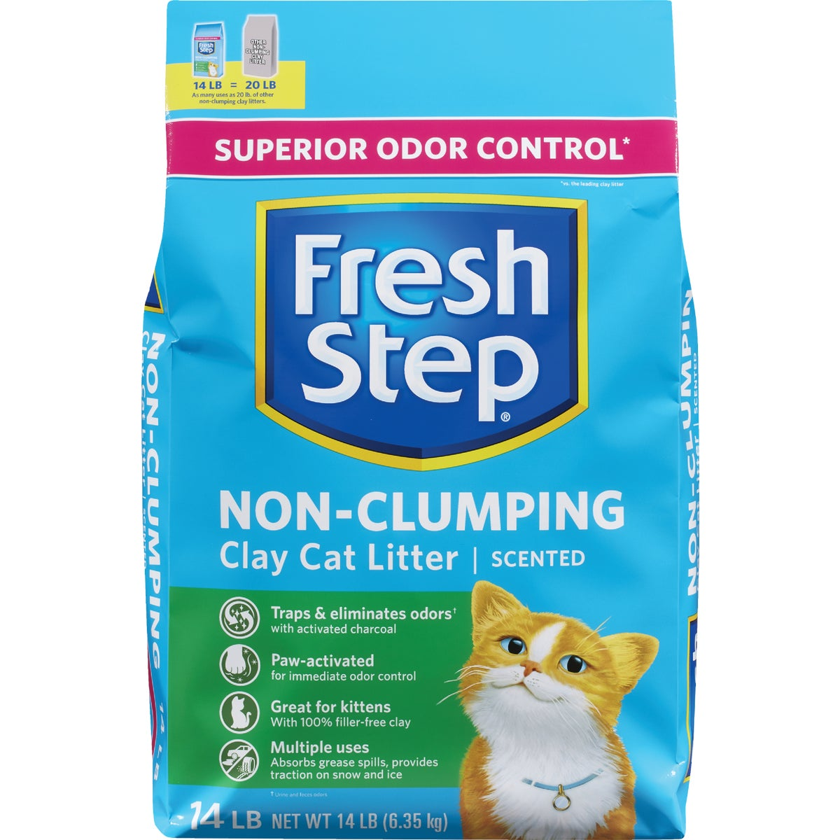 14LB BAG FRSHSTEP LITTER - 20020 by Clorox/home Cleaning