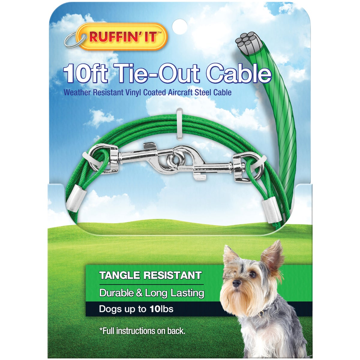 10' TIE-OUT CABLE - 29010 by Westminster Pet