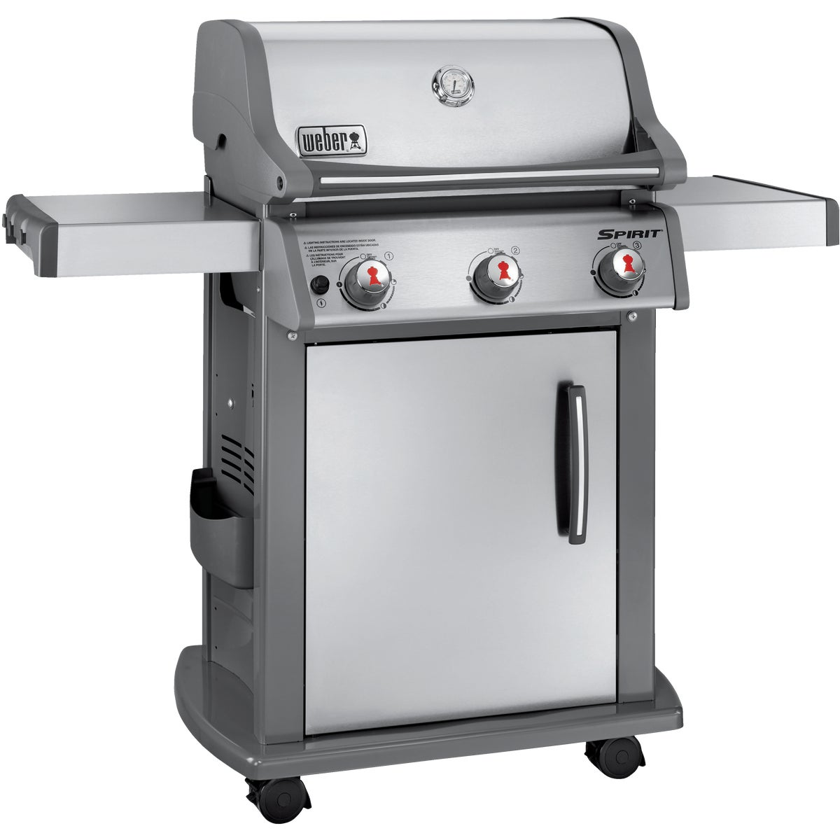 SP310 LP SS SPIRIT GRILL - 46500401 by Weber