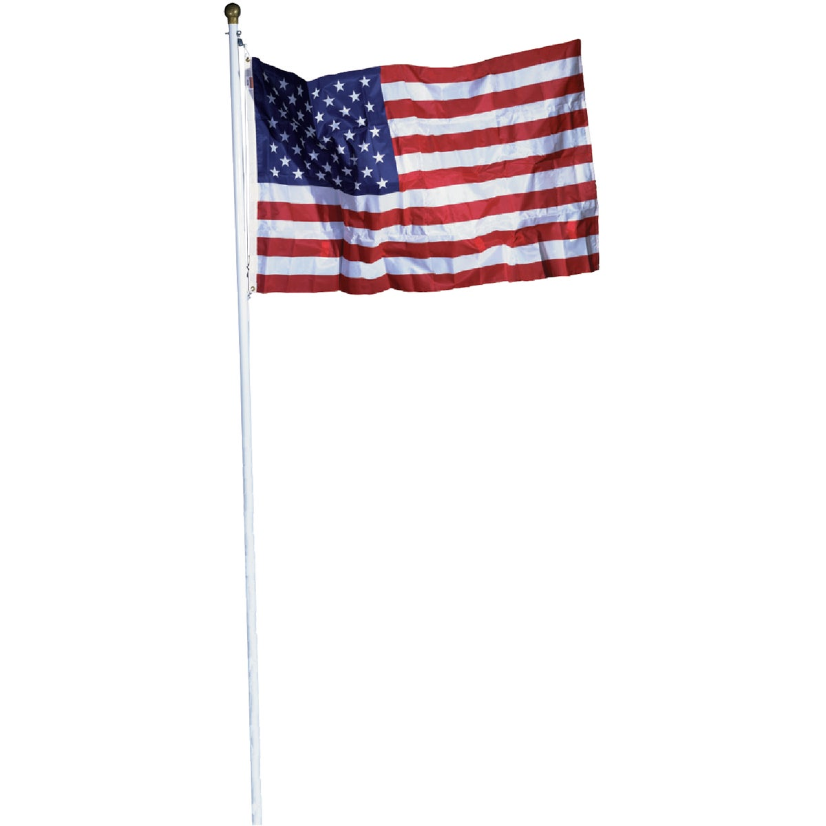18' STEEL FLAG POLE KIT - SFP18F-S by Valley Forge Flag