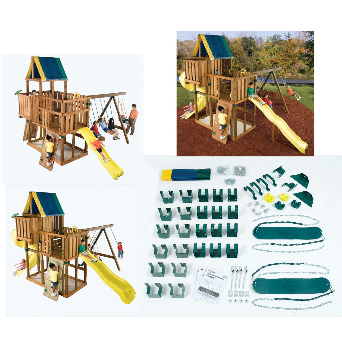 KODIAK PLAYGROUND KIT - NE5010 by Swing N Slide Corp