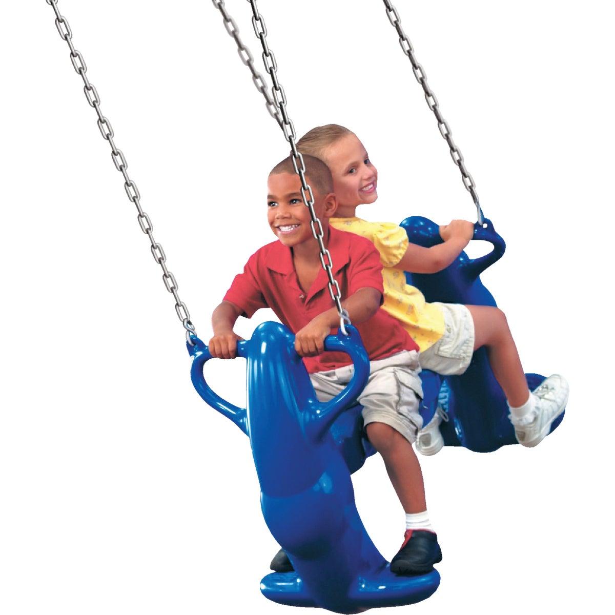 Swing N Slide 2-SEAT MEGA RIDER SWING NE4537