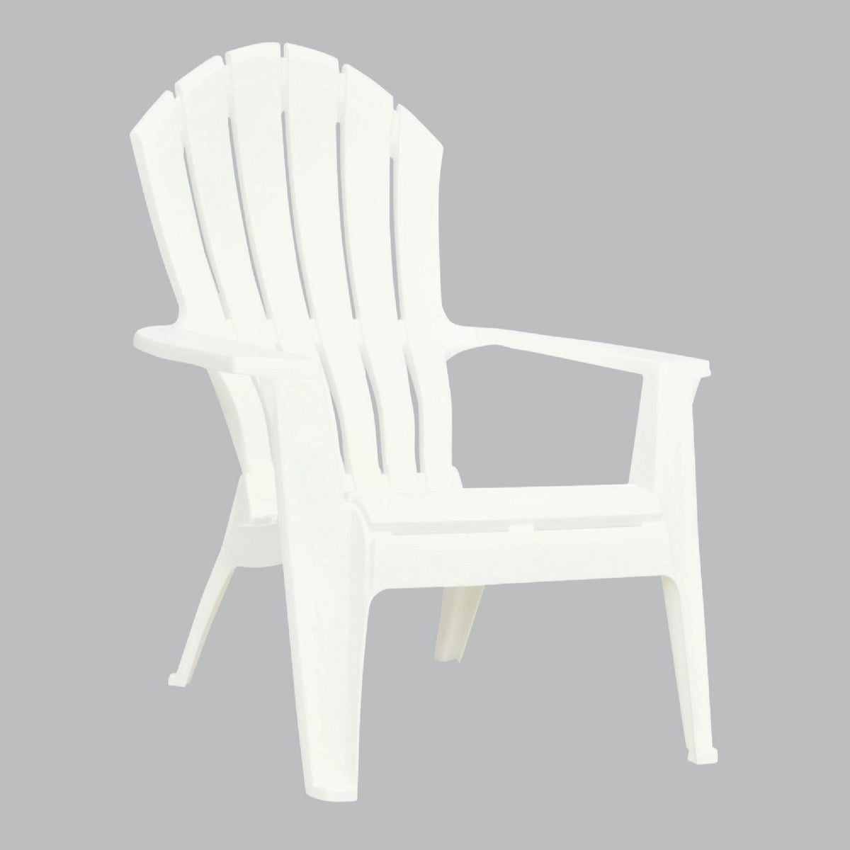 WHITE ERGO ADIRONDACK - 8371-48-3700 by Adams Mfg Patio Furn