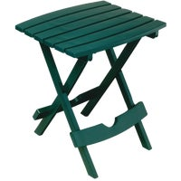Adams Mfg./Patio Furn. HNTR GRN QUIK FOLD TABLE 8500-16-3731