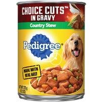 Mars Pedigree 13OZ CNTRY STEW DOG FOOD 1508