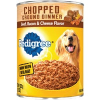 Mars Pedigree 22OZ BF/BAC/CHE DOG FOOD 1018