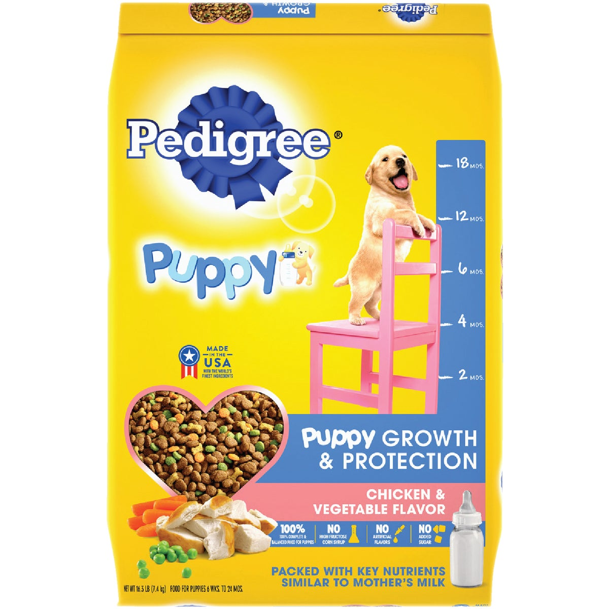 16LB PUPPY CHKN DOG FOOD - 10084160 by Mars Pedigree
