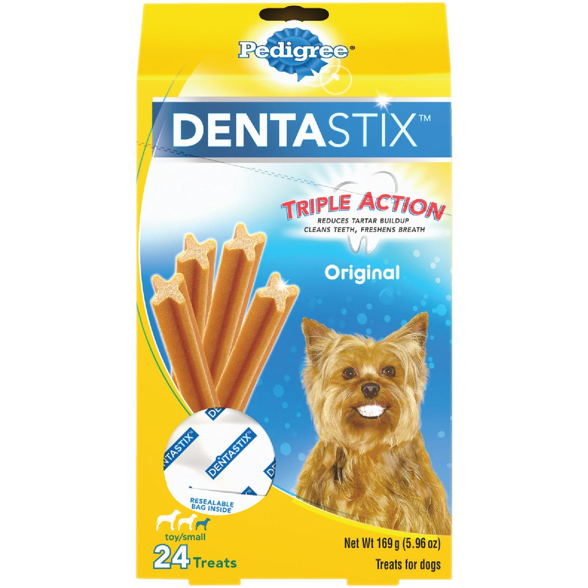 6OZ PEDIGREE DENTASTIX - 02347 by Mars Pedigree