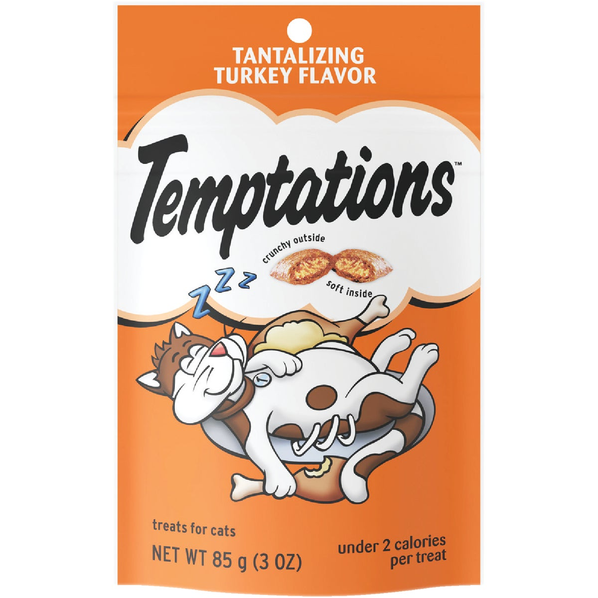 3OZ TRKY TEMPT CAT TREAT