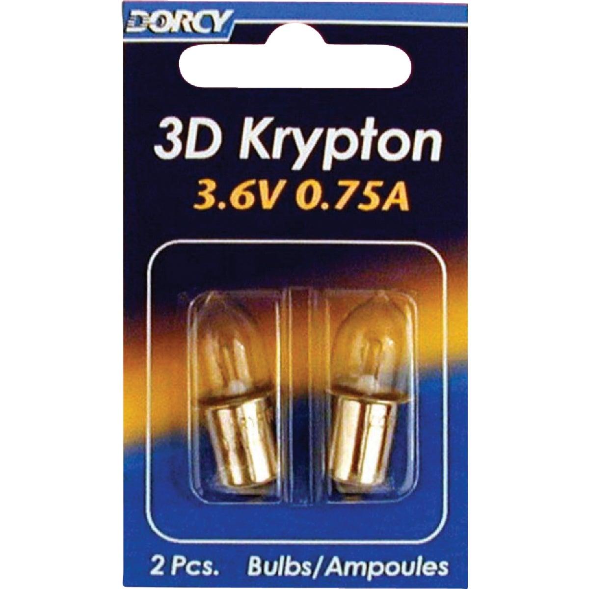 2CD 3D Flashlight Bulb