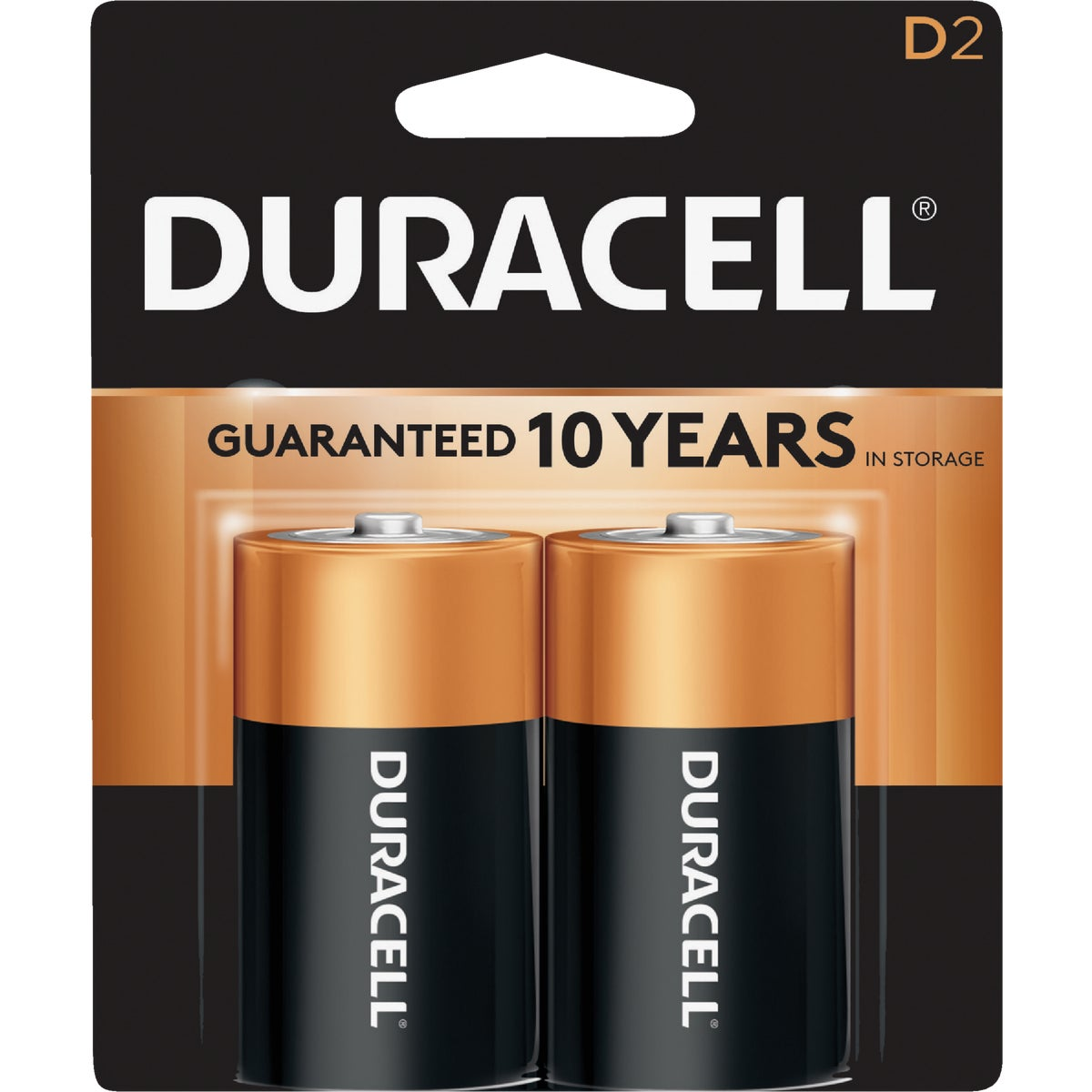 2PK D ALKALINE BATTERY - 09061 by P & G  Duracell