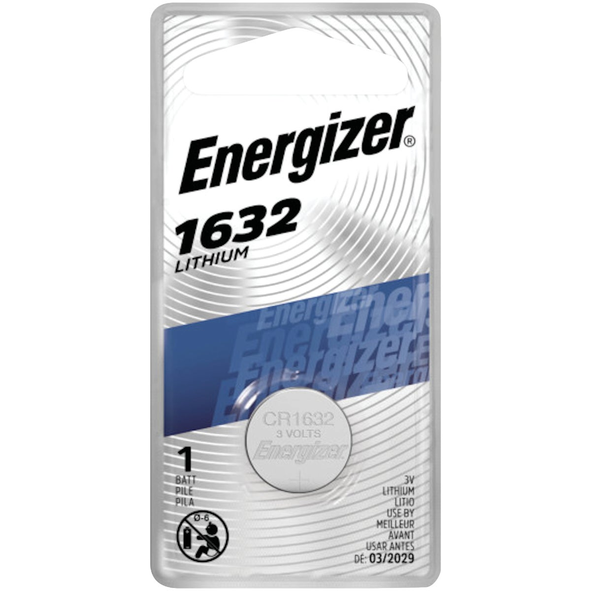 CALCULATOR/WATCH BATTERY - ECR1632 by Energizer