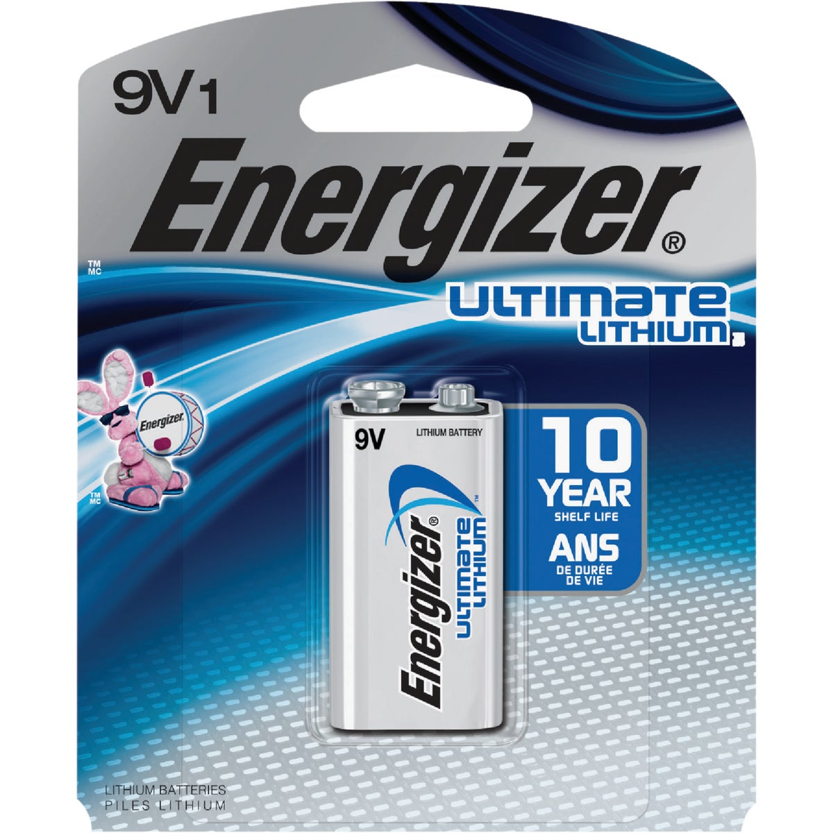 ADV LITHIUM 9V BATTERY - LA522SPB by Energizer
