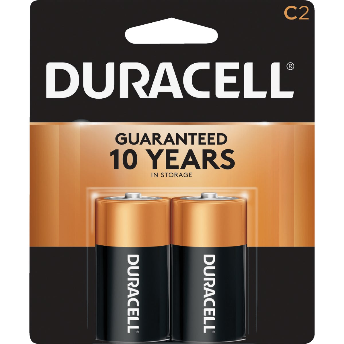 2PK C ALKALINE BATTERY - 09161 by P & G  Duracell