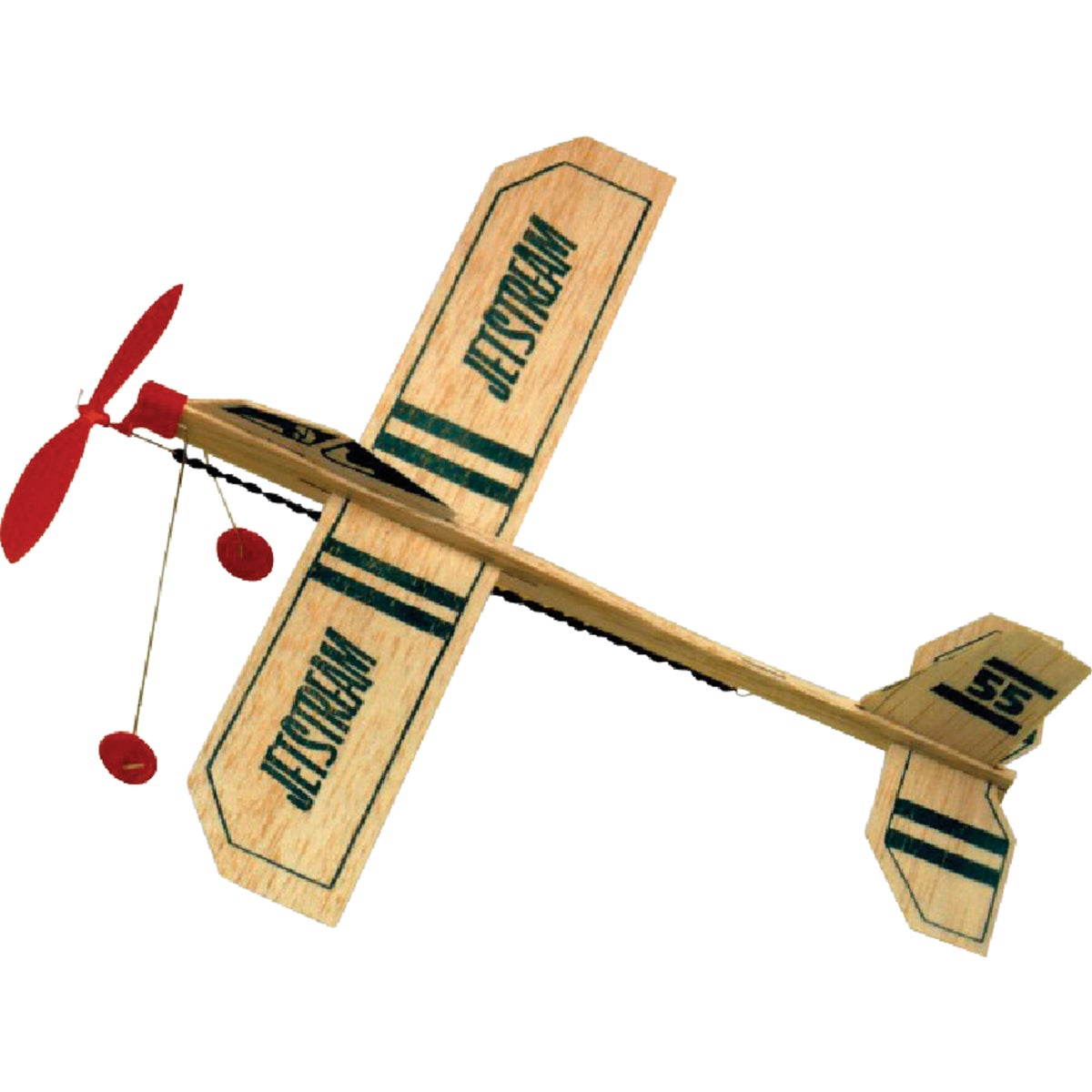 JETSTREAM BALSA AIRPLANE - 55 by Paul K Guillow