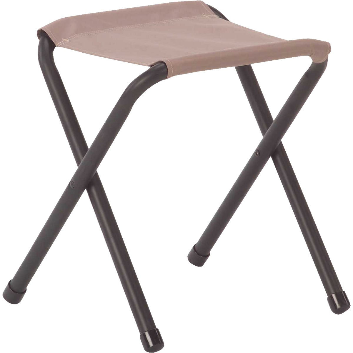 Academy Broadway 50370 Steel Frame Nylon Seat Folding Camp Stool - Color Red
