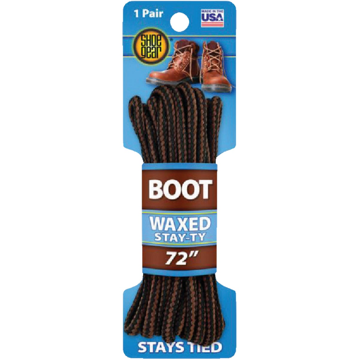 "72"" BRN BOOT LACE"