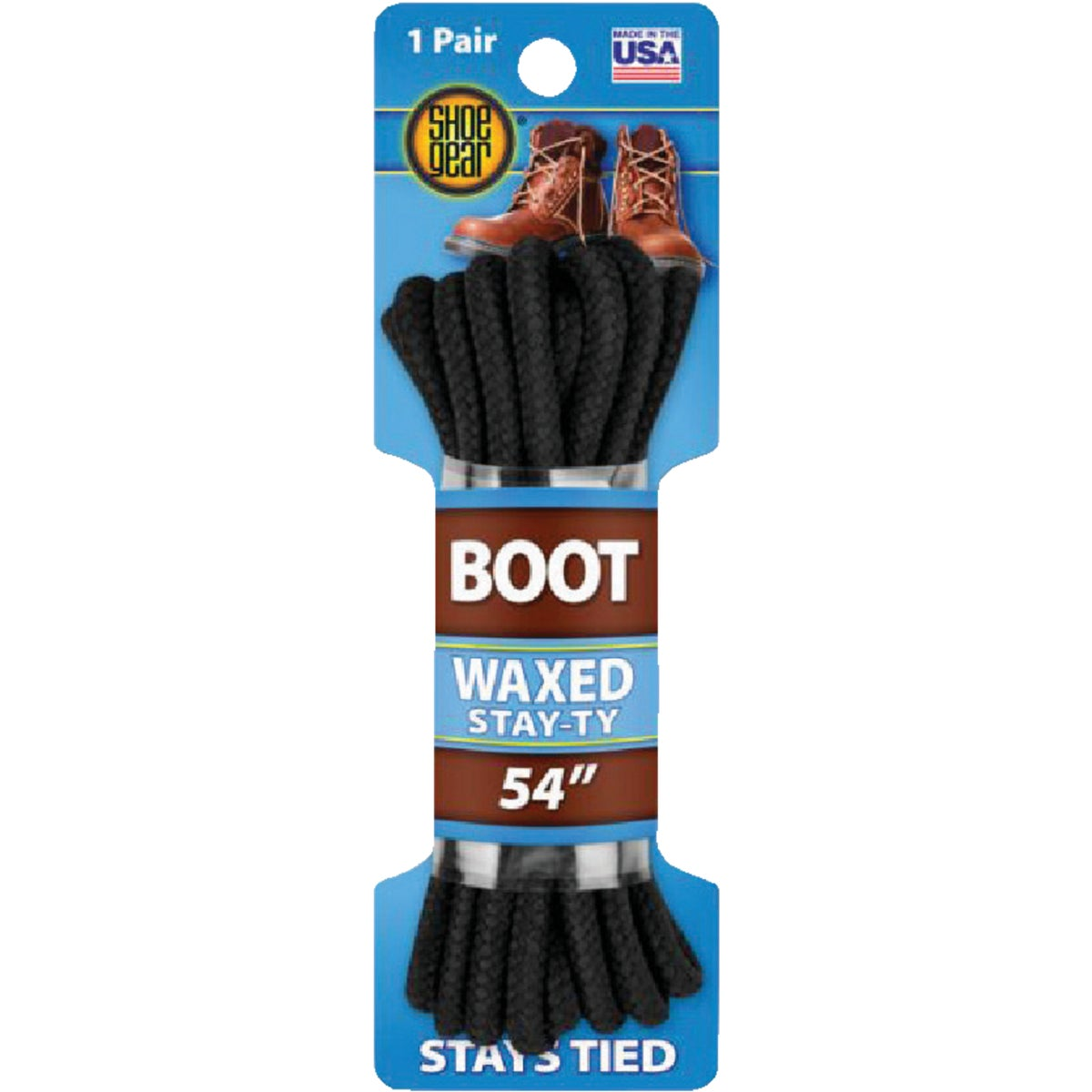 "54"" BLK BOOT LACE"