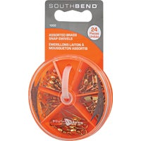 South Bend Sporting Goods 24PC ASSORTED SWIVEL 1002