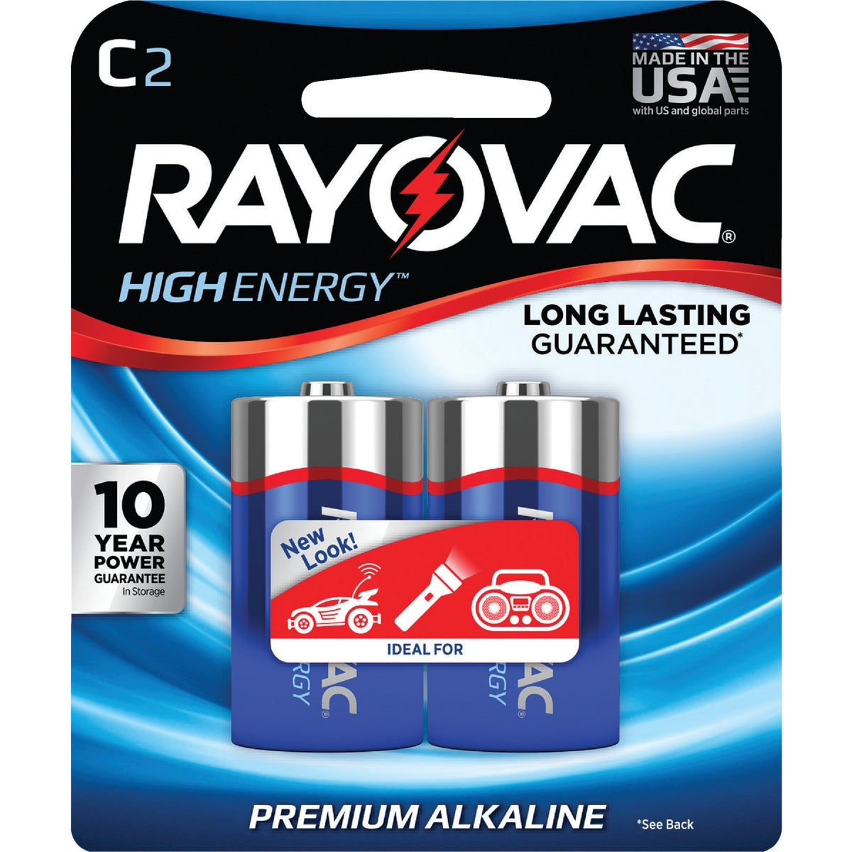 2PK C ALKALINE BATTERY - 814-2F by Ray O Vac
