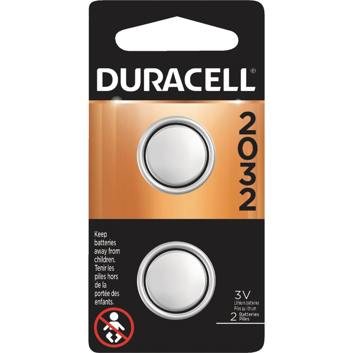 2PK MEDICAL BATTERY - DL2032B2PK by P & G  Duracell