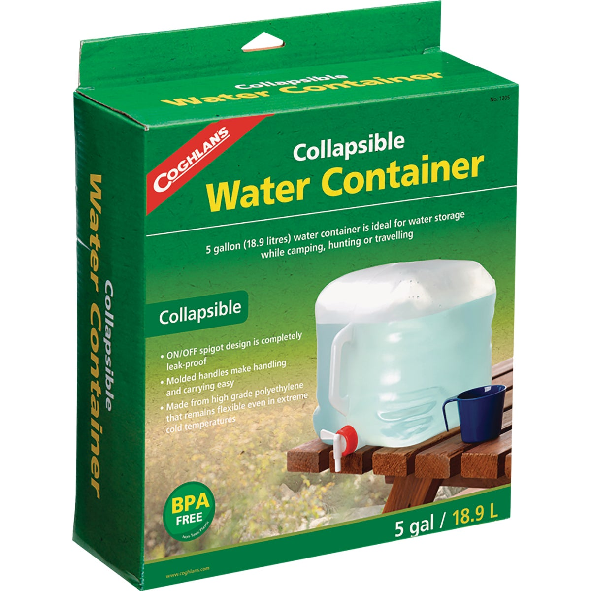 5GAL WATER CARRIER - 50260 by Academy Broadway Cor