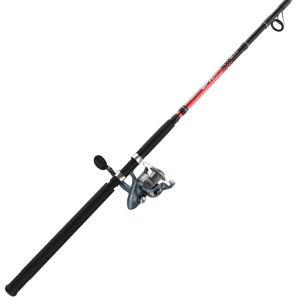 8' MED SPINNING ROD/REEL