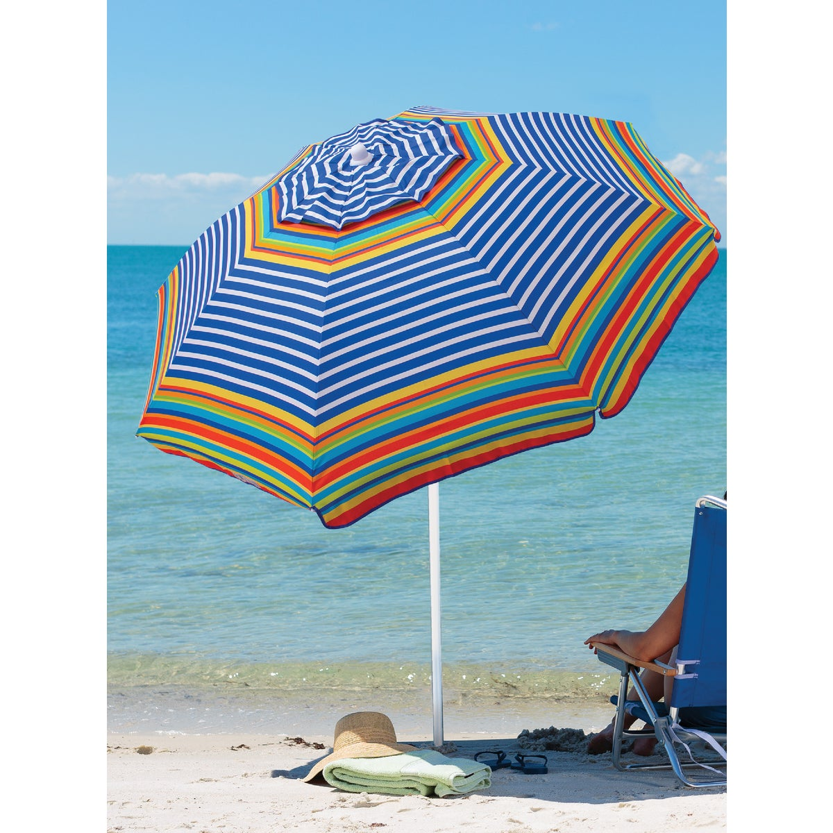 6' BEACH UMBRELLA - UB71-149 by Rio Brands  Ningbo1