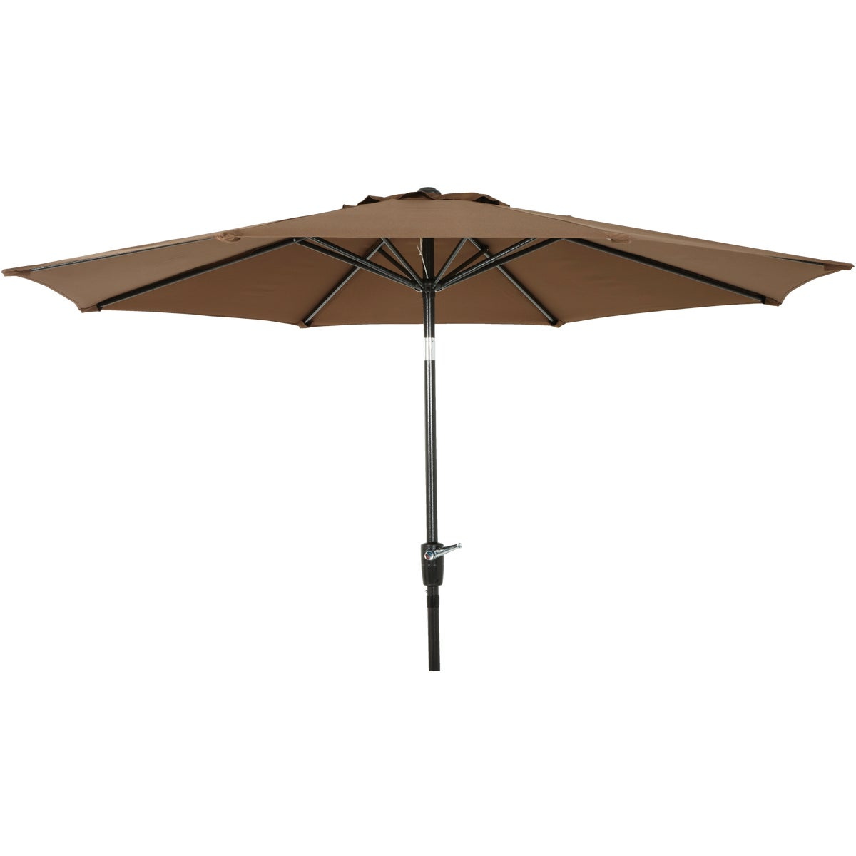 9' BROWN ALUM UMBRELLA