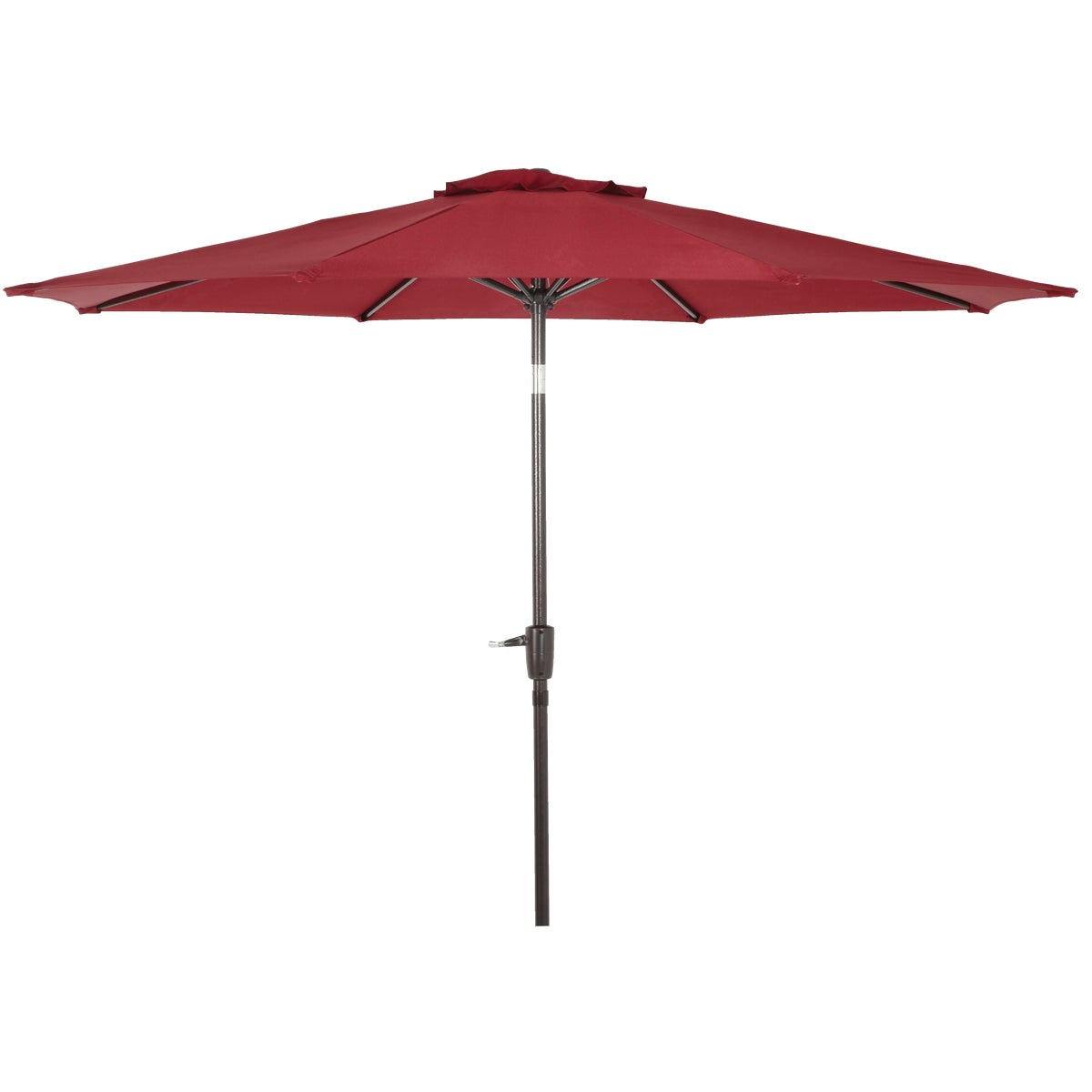 9' BURGNDY ALUM UMBRELLA