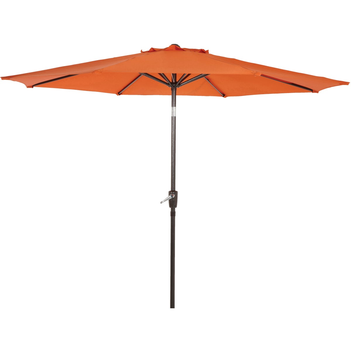 9' ORANGE ALUM UMBRELLA