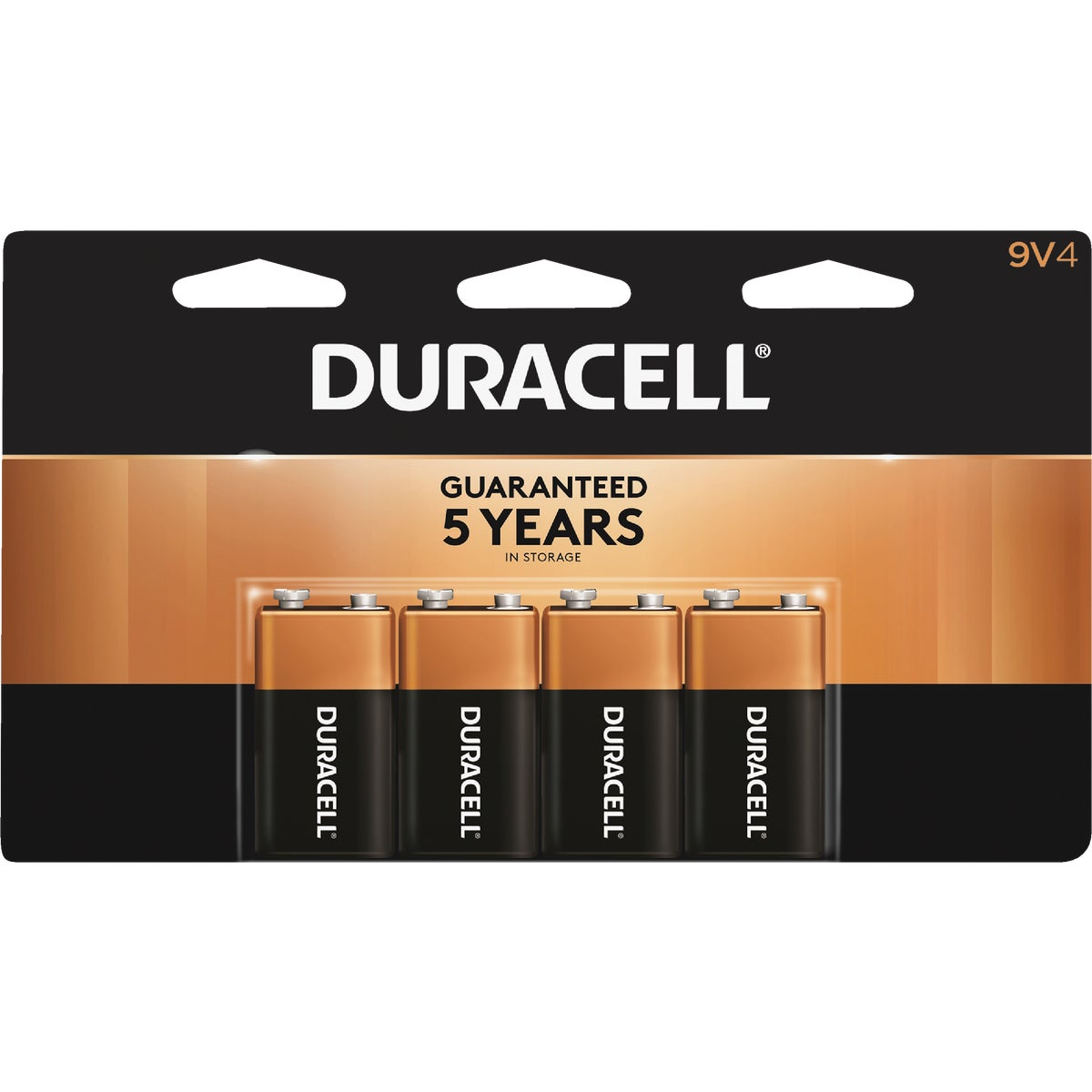 4PK 9V ALKALINE BATTERY - MN16B4DW by P & G  Duracell