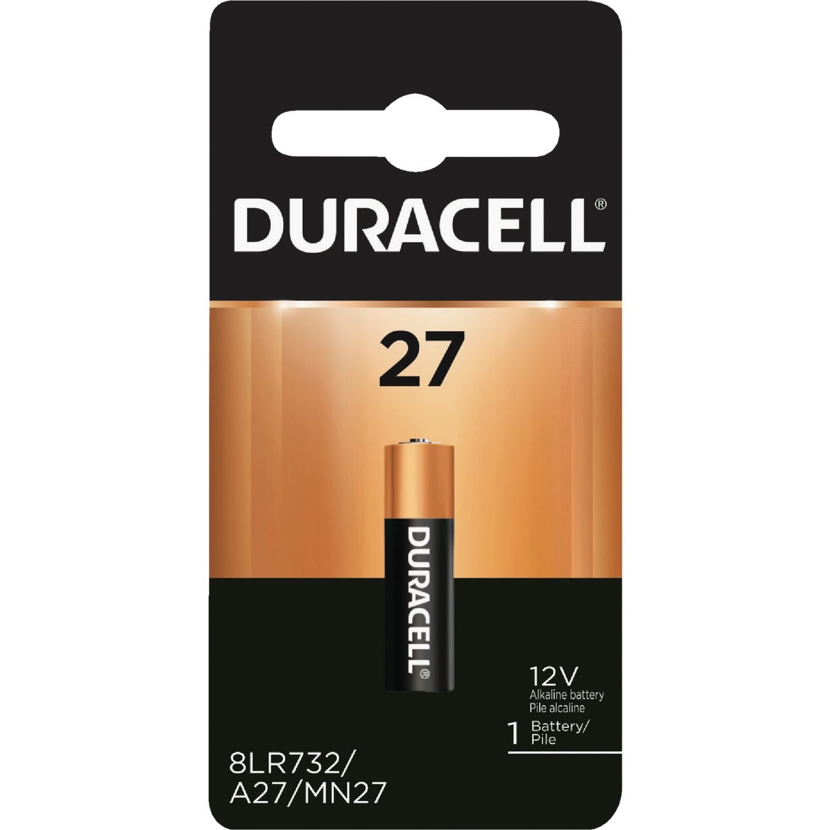 MN27 12V SECUR BATTERY - 52387 by P & G  Duracell