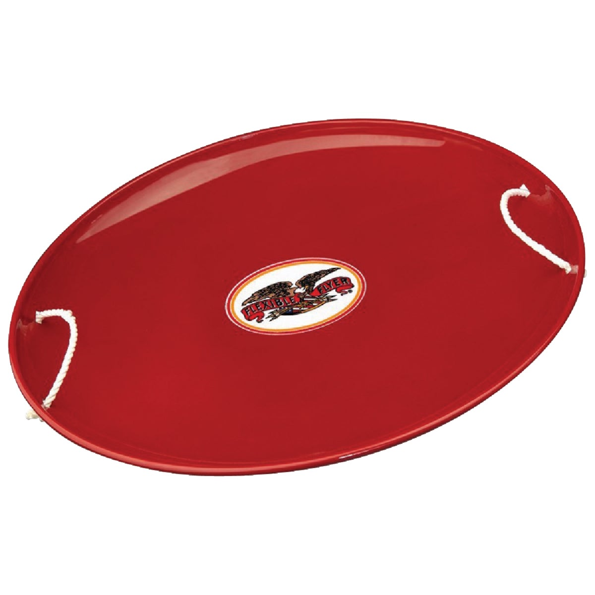 "RED 26"" STEEL SAUCER"