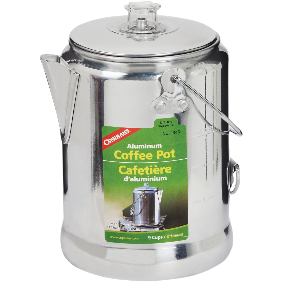 9CUP CAMPING COFFEE POT - 50070 by Academy Broadway Cor