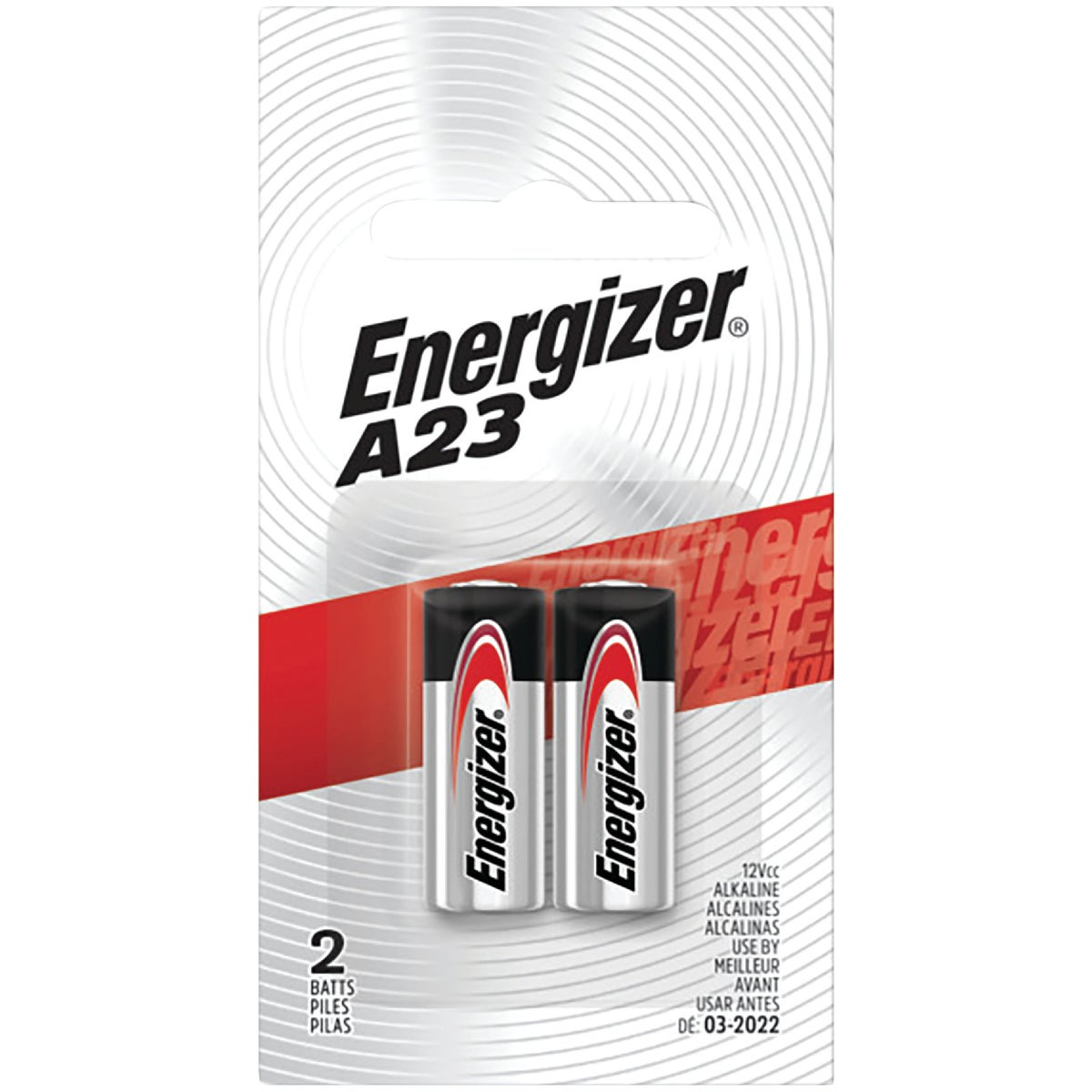 2PK 12V PHOTO BATTERY - A23BPZ-2 by Energizer