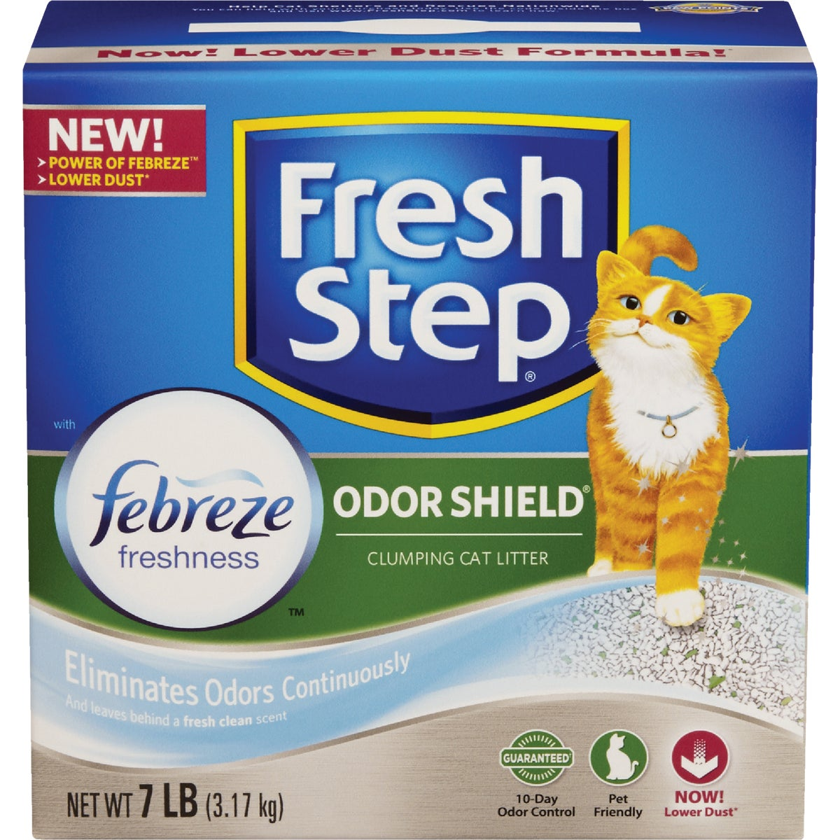 7LB FRSH STEP CAT LITTER