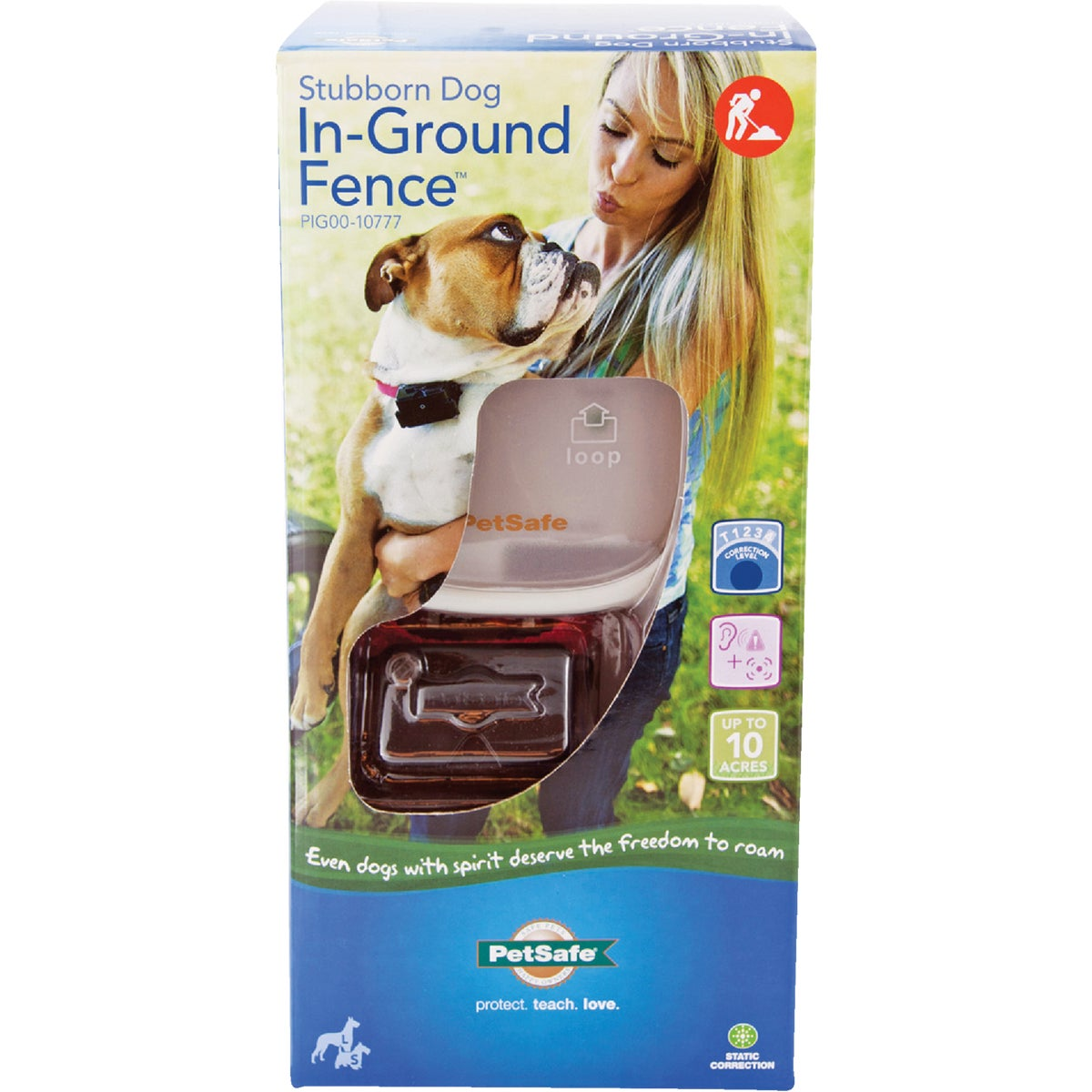 STUBBRN DOG INGRND FENCE