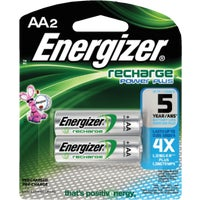 Energizer Recharge AA Rechargeable Battery, NH15BP2